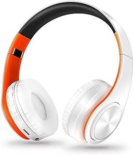 MDHANBK Auriculares Bluetooth inalámbricos, Auriculares estéreo, Auriculares Bluetooth con micrófono Plegable