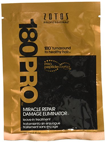 Zotos Professional 180PRO Miracle Repair Damage Eliminator Treatment, 1.0 Ounce