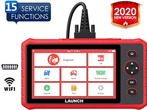 LAUNCH CRP909X OBD2 Scanner Diagnostic Tool 15 Reset Functions and Full Systems Red