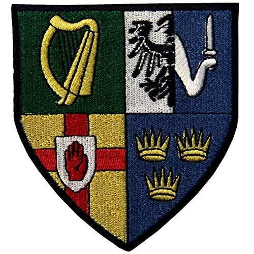 Escudo provincias Irlanda Bandera irlandesa escudo