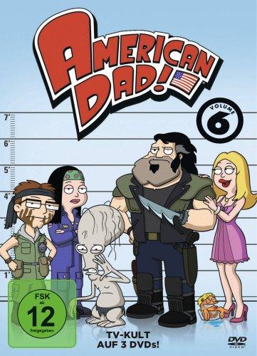 American Dad - Season 6 (3 DVDs)