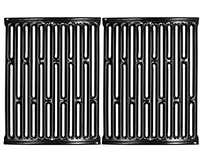"VICOOL 14.75"" Porcelain Enameled Grill Grid Grates for Weber Genesis Silver A, Spirit 500, Spirit E/S 200 & 210, 7523 7521 7522 65904 65905 hyG752C"