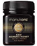 Manukora UMF 20+/MGO 830+ Raw Mānuka Honey (250g/8.8oz) Authentic Non-GMO New Zealand Honey, UMF &...