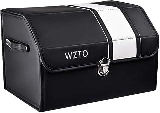 WZTO Organizador Maletero Coche, Bolsa Maletero Coche Portable Durable Organizador Universal Impermeable Fácil de Limpiar - 45 * 30 * 31CM