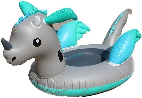 Aufblasbarer Drache-Pool-Lieder für Erwachsene Kinder 220  150  110cm,Outdoor und Indoor Vacation Beach Lounge Pool Pool Pool