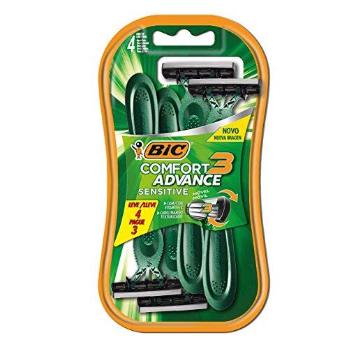 Comfort BIC Verde, Pacote com 4 unidades