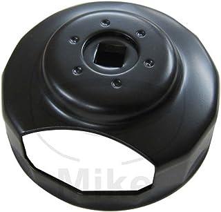 Mifive Entrambe le parti sporgono il diametro interno 76mm 12 Flutes olio Filtro a cartuccia Cap Chiavi Strumenti Socket Remover