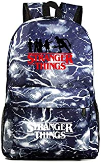 Stranger Things Backpack, Student School Book Bag Laptop Backpack Casual Traveling Daypack Bookbag for Boy Kid Girl (3)