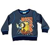 Camiseta estampada de manga larga oficial de los Minions para niño de Banana 1432 gris 3 años