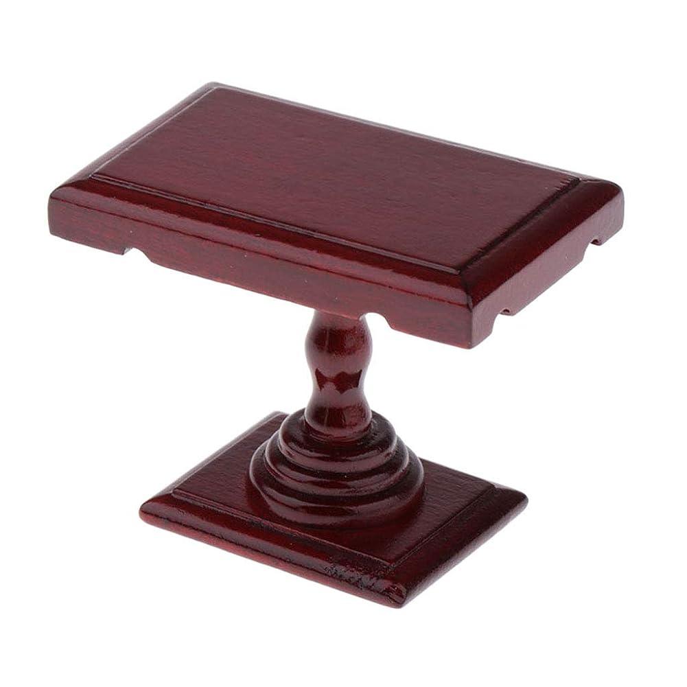 数字注ぎます咲く1/12ドールハウス 家具 ミニウッド テーブル コーヒーテーブル ダイニングテーブル ミニチュア
