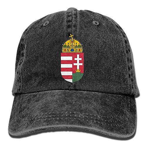 xdbgdfhdhdjdj Wappen von Ungarn Erwachsene Cowboyhut Baseball Cap Verstellbar Athletic Personalisierte Sommerhut
