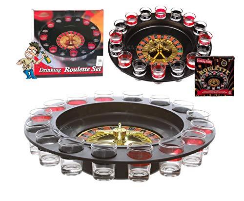 StrMy Roulette Russa Alcolica 16 Bicchieri Gioco Tavolo Drinking Game Feste Celibato