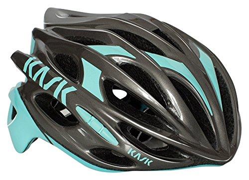 Kask Mojito 16 -Casco de bicicleta, MOJITO 16, Antracite/Aqua