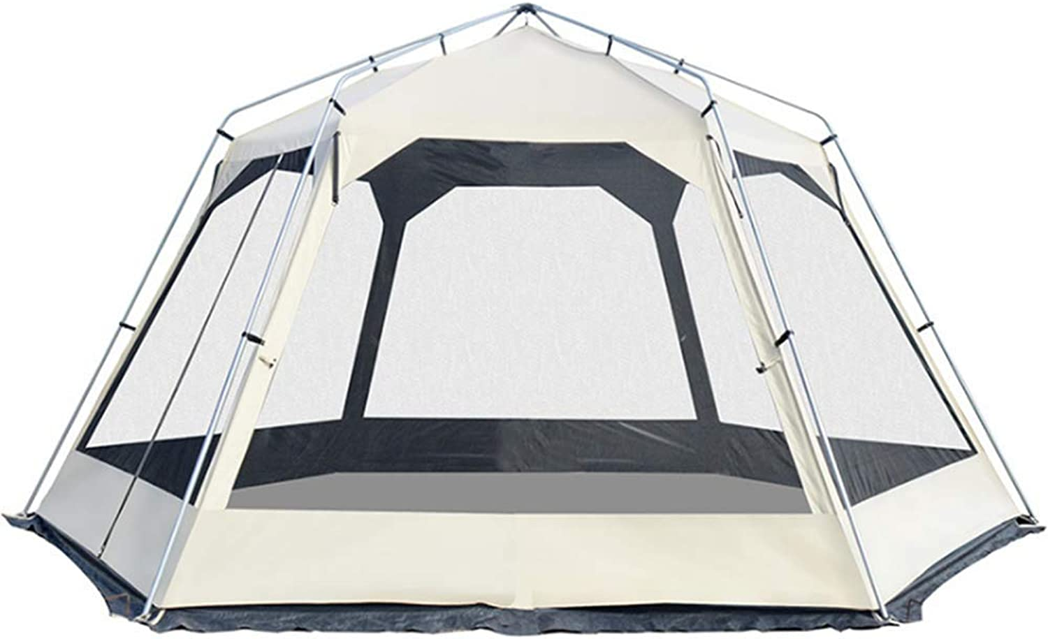 Group Party Tent with Sun Canopy Triple Ventilation Festival Backpacking Trekking Outdoor Dome Tent 810 Persons Windproof Snow Shelter