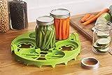 Farm to Table 52510 Dual Canning Rack, Nylon, Quart or Pint Sizes