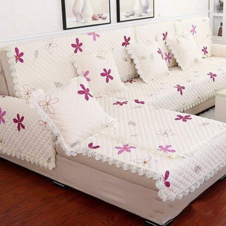 2018 New Creative Floral Sofa Cover Synthetic Hair slipcovers fundas de Sofa sectional couchhomesofa Towels dec   6, Cushion2pcs