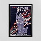 Paris Wall Art Vintage Französisches Poster Leonetto