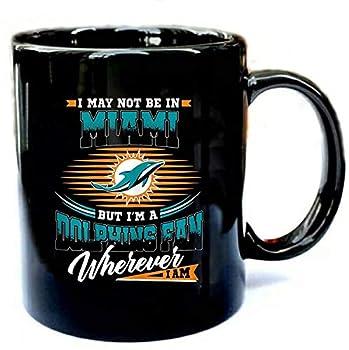 Retro Miami Dolphin Vintage - Funny Gift Black 11oz Ceramic Mug Gift Coffee Mug