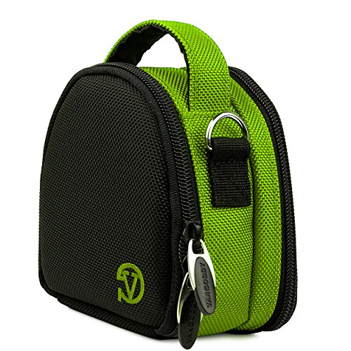 Sports Compact Carrying Case Lime Green for Garmin Ultra 30 VIRB XE, X