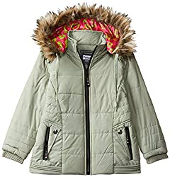 Qube by Fort Collins Fort Collins Girls  Quilted Regular Fit Jacket 69170 FC