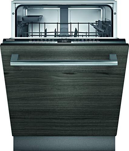 Siemens SX63HX60AE iQ300 Vollintegrierter Geschirrspüler/A++ / 262 kWh/Jahr / 2660 L/Jahr/WLAN-Fähig über Home Connect/varioSpeed Plus/varioSchublade, Schwarz