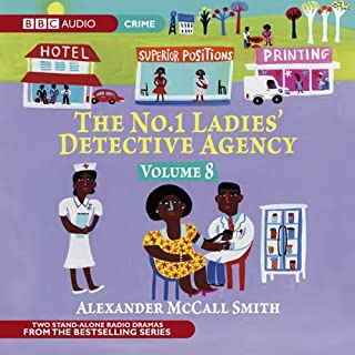 The No. 1 Ladies' Detective Agency 8: A Very Rude Woman & Talking Shoes (Dramatised) cover art