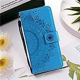 JiuRui-504 kuaijiexiaopu Étuis Mandala Fleur Cuir Flip Coque pour Sony Xperia 10 II XA2 XZ1 XZ2...