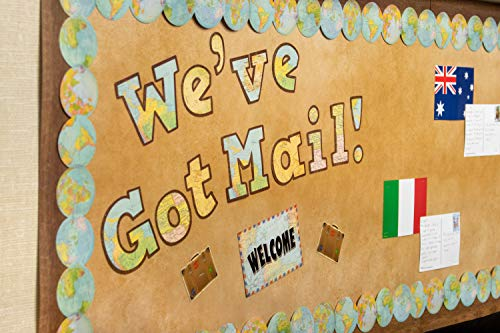 """Teacher Created Resources Travel The Map Bold Block 4"""" Letters Combo Pack (TCR8575) Photo #5"""