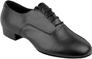 "Go Go Dance Shoes 1.5"" Heel Black Leather 7500"
