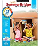 Summer Bridge Activities Workbook―Grades 2-3 Reading, Writing, Math, Science, Social Studies, Fitness Summer Learning Activity Book With Flash Cards (160 pgs)