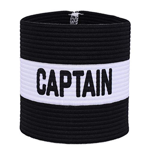 VerteLife - Fascia da capitano classica per allenamento di calcio, fascia elastica da capitano per bambini