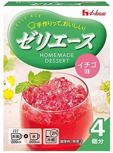 ハウス食品(House)『ゼリエース イチゴ味』