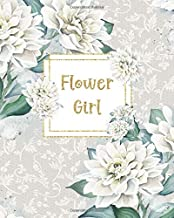 Flower Girl: Wedding Coloring and Drawing Notebook | Full Color Interior | Alternative Card | Wedding Party Keepsake