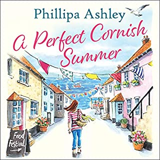 A Perfect Cornish Summer audiobook cover art