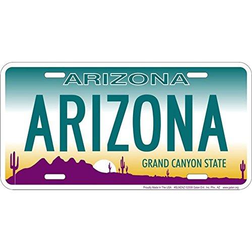 Signs 4 Fun Slmzaz AZ-Arizona, License Plate