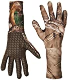 Under Armour Men's ColdGear Camo Liner Gloves, Realtree Ap-Xtra (946)/Dynamite, Small