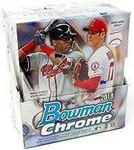 2018 Bowman Chrome MLB Baseball HOBBY box
