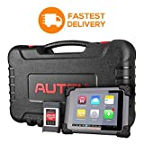Autel MaxisysCV MS908CV Diagnostic Tool with No-Delay Delivery for J2534 ECU Programming, Heavy Trucks Diagnostics, Coding, Service Functions for Deep Vehicle Repair – for Workshops & Mechanics