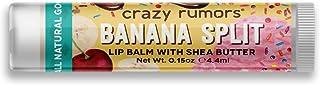 Crazy Rumors Balsamo Per Le Labbra, Banana Split - 30 g