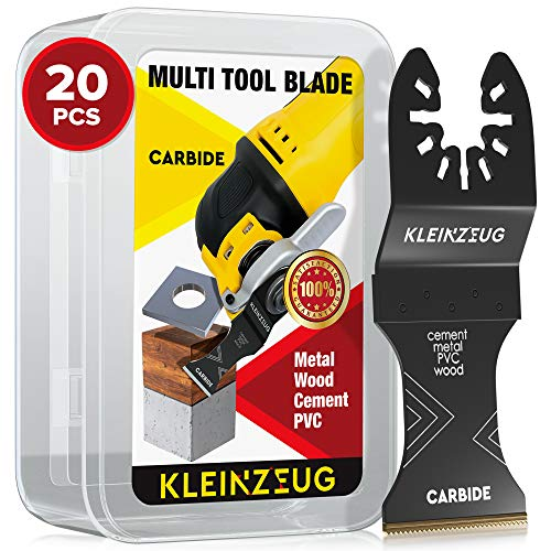 Buy Discount Kleinzeug Carbide Oscillating Tool Blades - Multitool Oscillating Saw Blades Universal ...