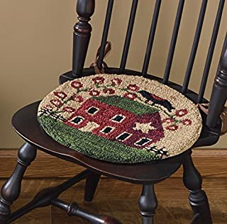 Park Designs Red House Hooked Chair Pad (375-58)