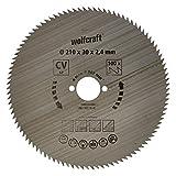 Wolfcraft 6281000 - Disco de sierra circular CV, 100 dient., serie azul Ø...