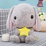 zcxbhd lindo animal de peluche de juguete suave almohada de dibujos animados adecuado para niños o novias regalos,c 22cm