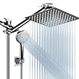 Shower Head Combo,8 Inch High Pressure Rain Shower Head with 11...