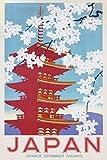 1art1 Plakatwerbung - Japan Railways Poster 91 x 61 cm