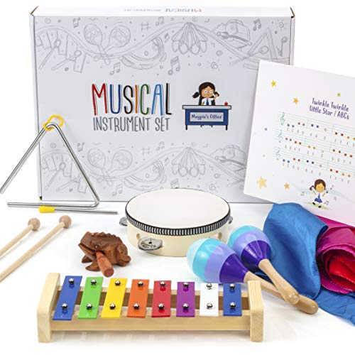 Kids Musical Instruments Toys for Toddlers Set – Fun,...