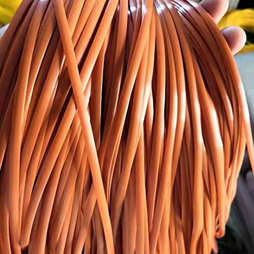 500g Gradiente Tejido Plano De Ratán, 5MM*80 M Reparación De Ratán Sintético Material De Punto Plástico De Ratán para Muebles para El Hogar De Bricolaje, Mesa De Silla, Cesta De Almacenamiento