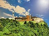 [城ミニ] 日本の名城 千早城 ケース付き 楠木正成のお城 模型 ジオラマ完成品 ミニサイズ