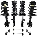 Detroit Axle - Front Rear Struts Assembly & Sway Bar Links Replacement for 92-96 Toyota Camry [2.2L...