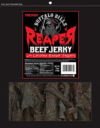 Buffalo Bills Premium Reaper Beef Jerky 7oz Pack